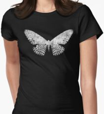 Grunge Butterfly Tee Womens Fitted T-Shirt