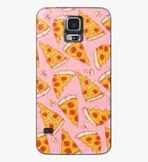 Pizza Night - Pink Case/Skin for Samsung Galaxy