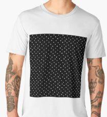 Elegant chalk heart black Men's Premium T-Shirt