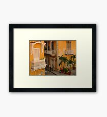 Colonial Style Framed Print