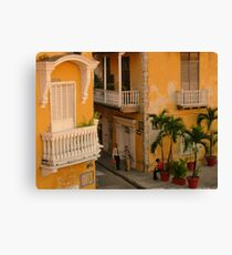 Colonial Style Canvas Print