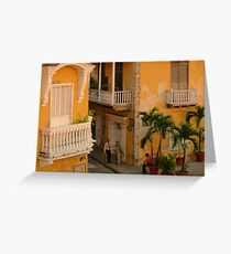 Colonial Style Greeting Card