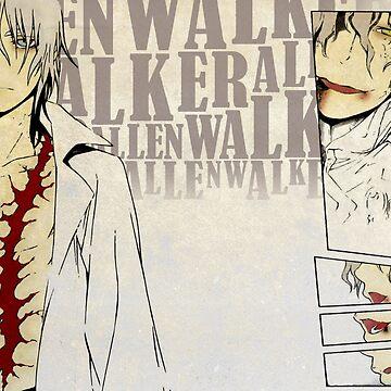 Allen Walker the 14th Noah - D.Gray-Man by whiitechan