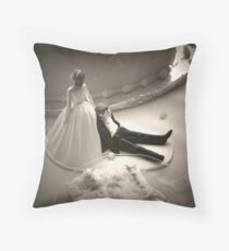 Reluctant Groom Throw Pillow
