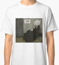 Whistler's Mother - Mr. Bean Classic T-Shirt