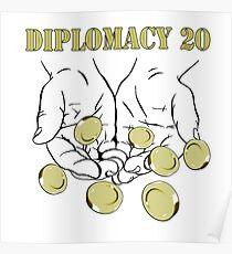 Diplomacy D20 - D&d Stories Poster