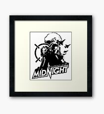 The Office - Threat Level Midnight Movie Poster Framed Print