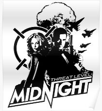 The Office - Threat Level Midnight Movie Poster Poster