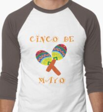 Mexican Cinco De Mayo Maracas Design T-Shirt