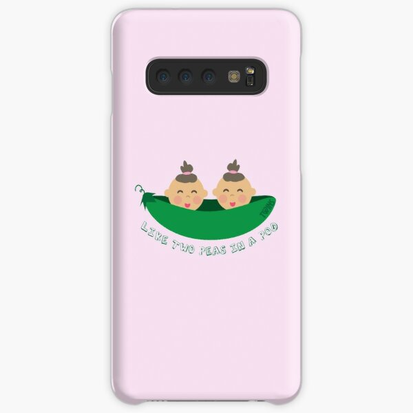 Peas in a Pod (girl/girl twins) Samsung Galaxy Snap Case