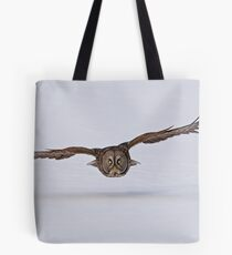 Great Gray Owl in Flight - Ottawa, Ontario Tote Bag