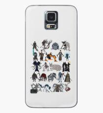 Funda/vinilo para Samsung Galaxy Bloodborne bosses