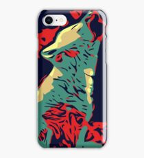 Baby Wolves Vector iPhone Case/Skin