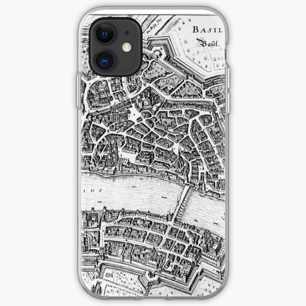 Schweiz um 1642 Datum 1642 Quelle Topographia Helvetiae iPhone Flexible Hülle