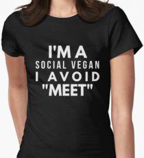 I'm a social vegan, I avoid Meet T-Shirt
