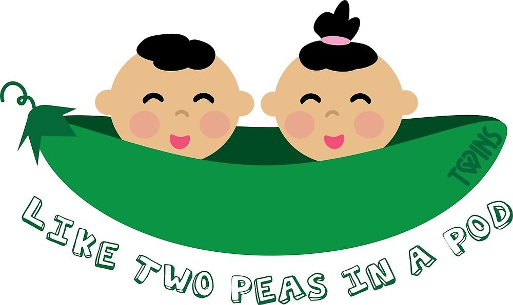 Sweet twins — Stock Vector © Dazdraperma #1290098 | Carte naissance fille,  Carte naissance, Naissance garçon