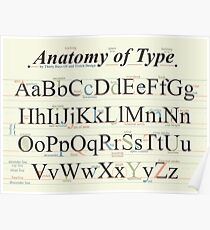 The Anatomy of Type Poster