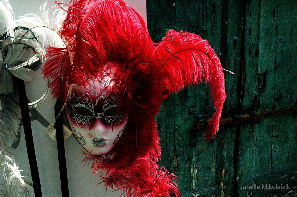 Mask by Janelle Mikolaizik