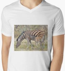 Zebra - African Wildlife - Paired up for Life T-Shirt