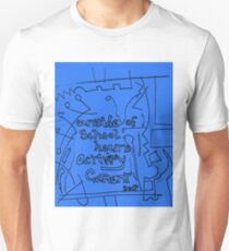 Outside of school hours activity garment  - Blue T-Shirt