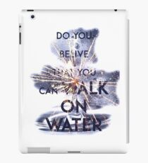 WALK ON WATER - 30 SECONDS TO MARS iPad Case/Skin