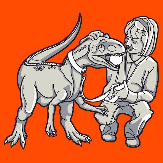 TShirtGifter presents: Jessie's Pet T-Rex