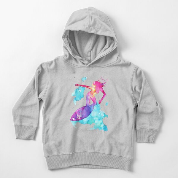 Surfer Girl Toddler Pullover Hoodie