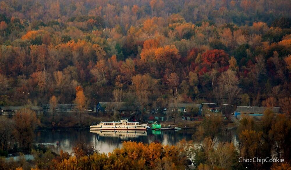Autumn in Kiev by ChocChipCookie