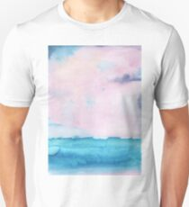 Watercolor landscape sky clouds T-Shirt