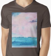 Watercolor landscape sky clouds T-Shirt