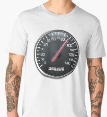 RACE, RACING, MOTORSPORT, SPEEDO, Speedometer, Speed meter, Race, Racing Cars, WHITE Men's Premium T-Shirt