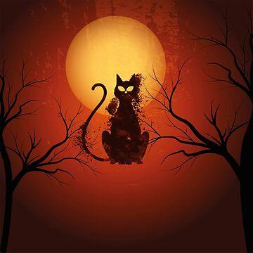 Cat Halloween  by Delpieroo