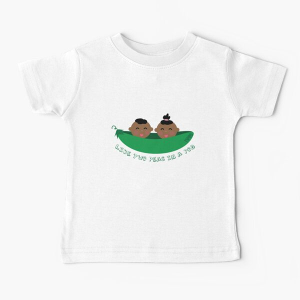 Peas in a Pod (boy/girl twins) Baby T-Shirt