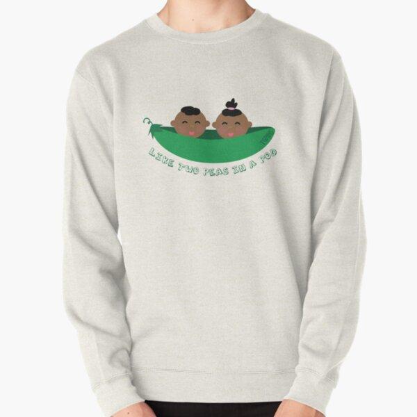 Peas in a Pod (boy/girl twins) Pullover Sweatshirt