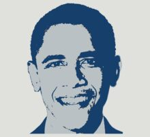 Great Graphic Barack Obama in Blue