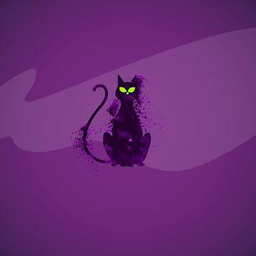 mystery cat halloween by Delpieroo