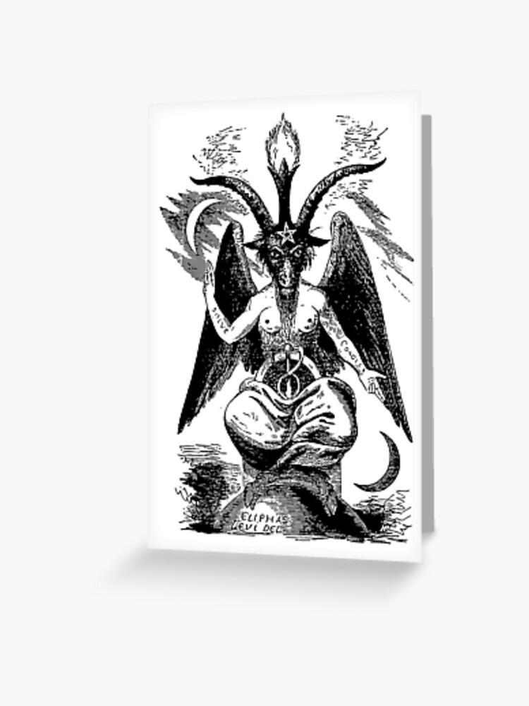 Baphomet - Devil - Sabbatic Goat - Satan 2 | Greeting Card