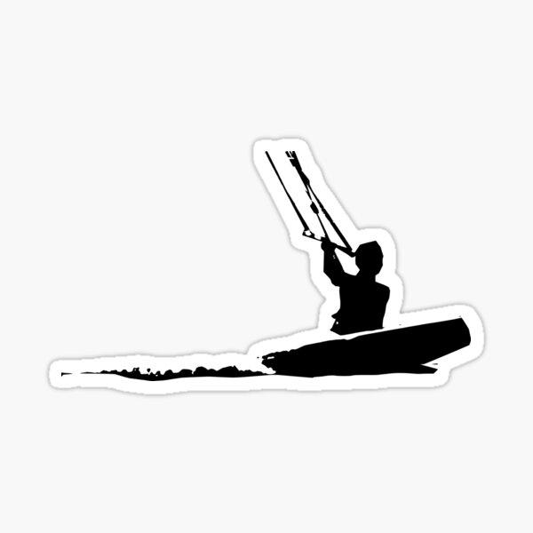 Kitesurfer Sticker