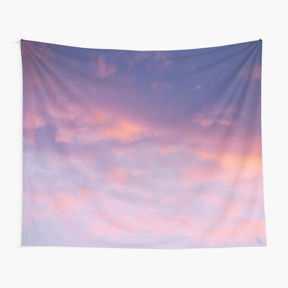 Sonnenuntergang Wolken Wandbehang