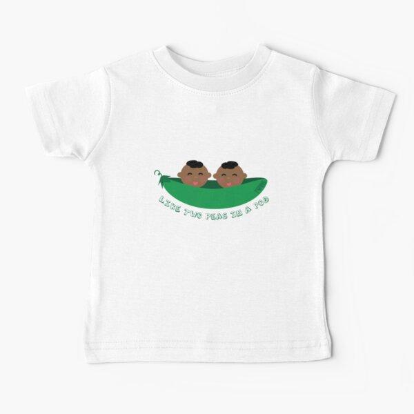 Peas in a Pod (boy/boy twins) Baby T-Shirt