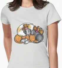 Pit bull terrier dogs - sleeping pile T-Shirt