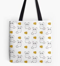 Cute Mouse pattern Tote Bag