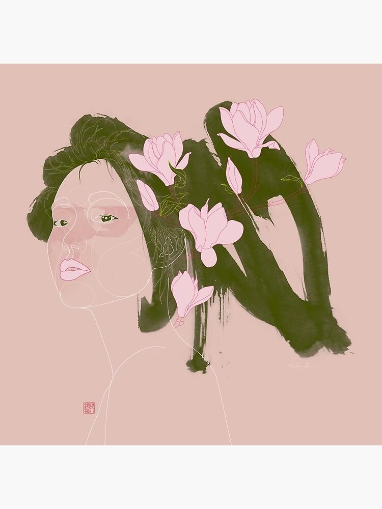Magnolia (Mulan) by Thoth-Adan