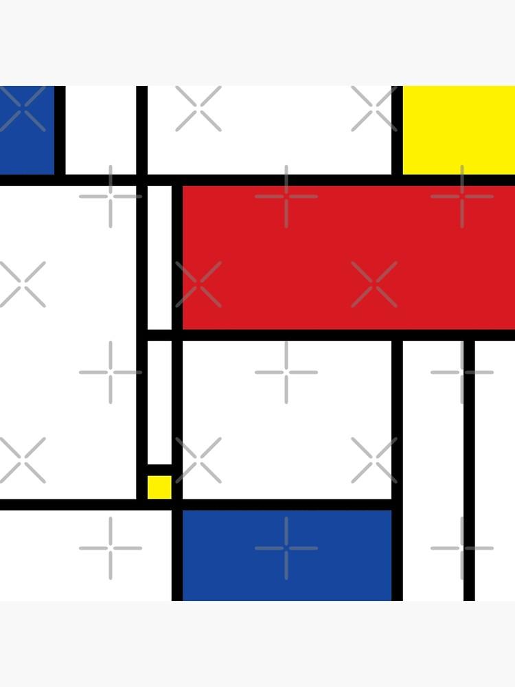 Mondrian Minimalist De Stijl Moderne Kunst © fatfatin von fatfatin
