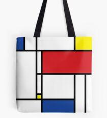 Mondrian Minimalist De Stijl Modern Art Tote Bag