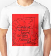 Outside of school hours activity garment - Red T-Shirt