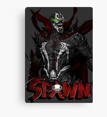 THE HELL SPAWN Canvas Print
