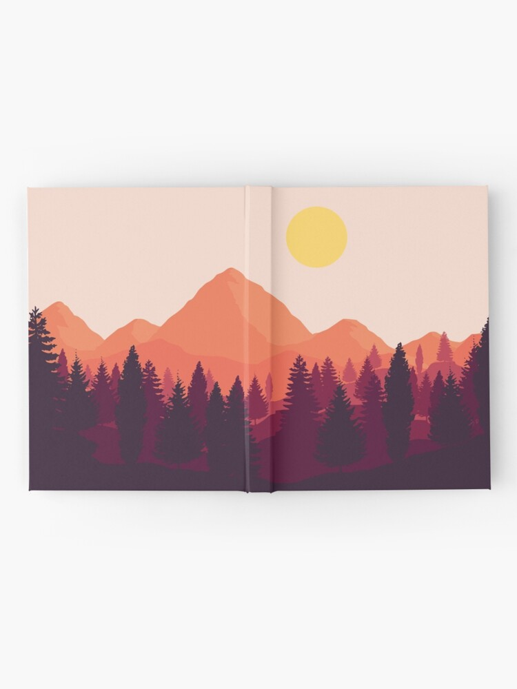 Alternate view of Forest Mountain Horizon Hardcover Journal