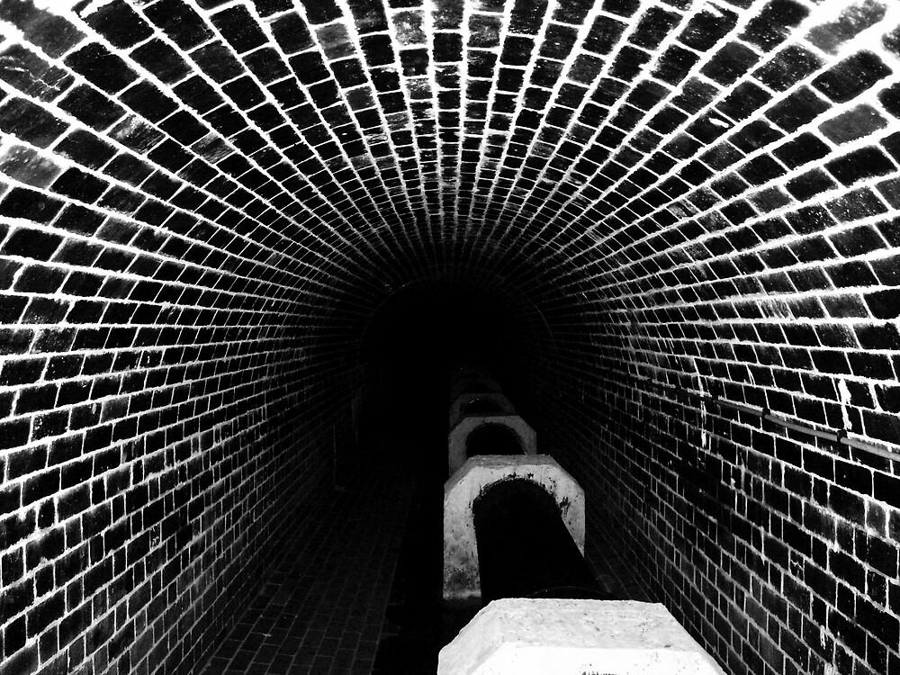 beautiful unseen brickwork B&W version by SNAPPYDAVE