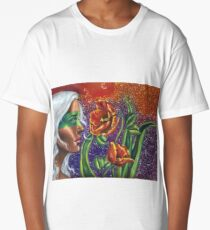 Pandora & the Rising Bloom Long T-Shirt